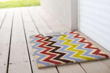 שטיח כניסה גיאומטרי