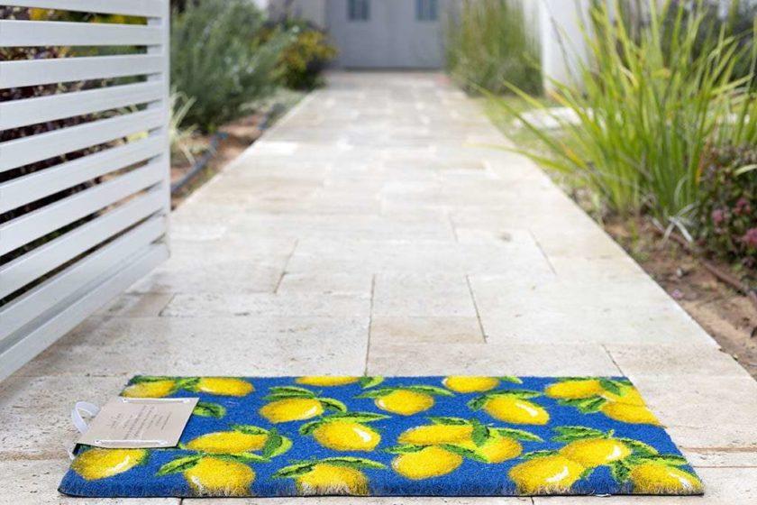 שטיח כניסה לימונים