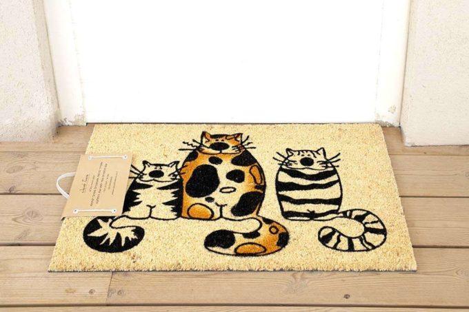 שטיח כניסה חתולים