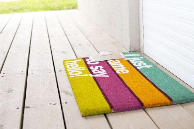 שטיח כניסה מודפס