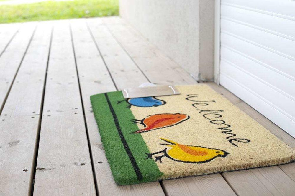 שטיח כניסה ציפורים