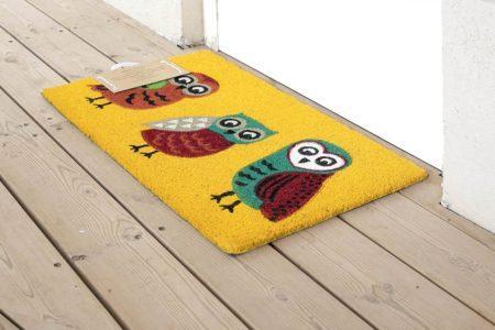 שטיח ינשופים לכניסה