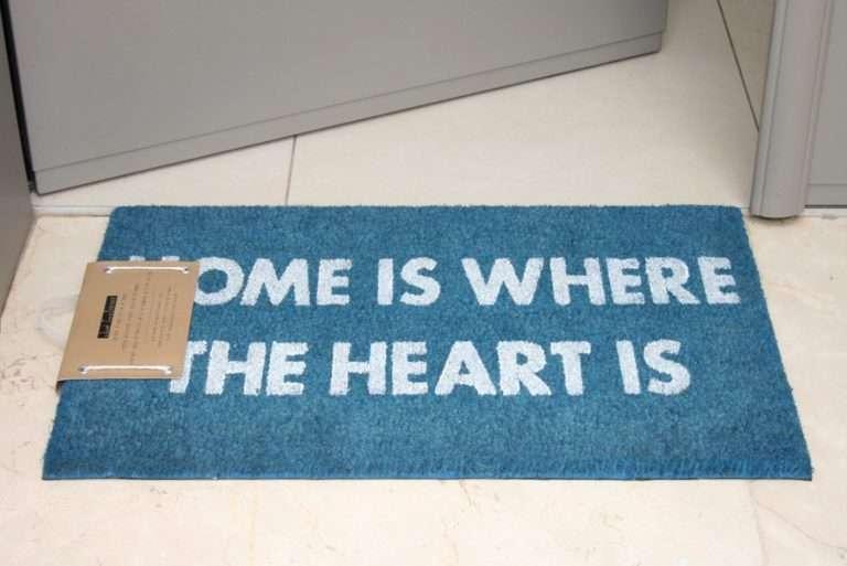 שטיח כניסה home כחול