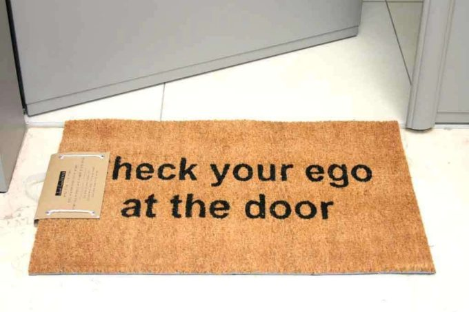 שטיח כניסה ego לסף הדלת