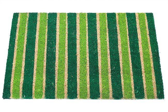 שטיח פסים ירוקים לכניסה
