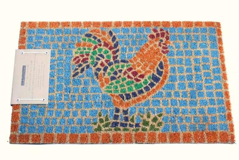 שטיח כניסה תרנגול פסיפס מיוחד
