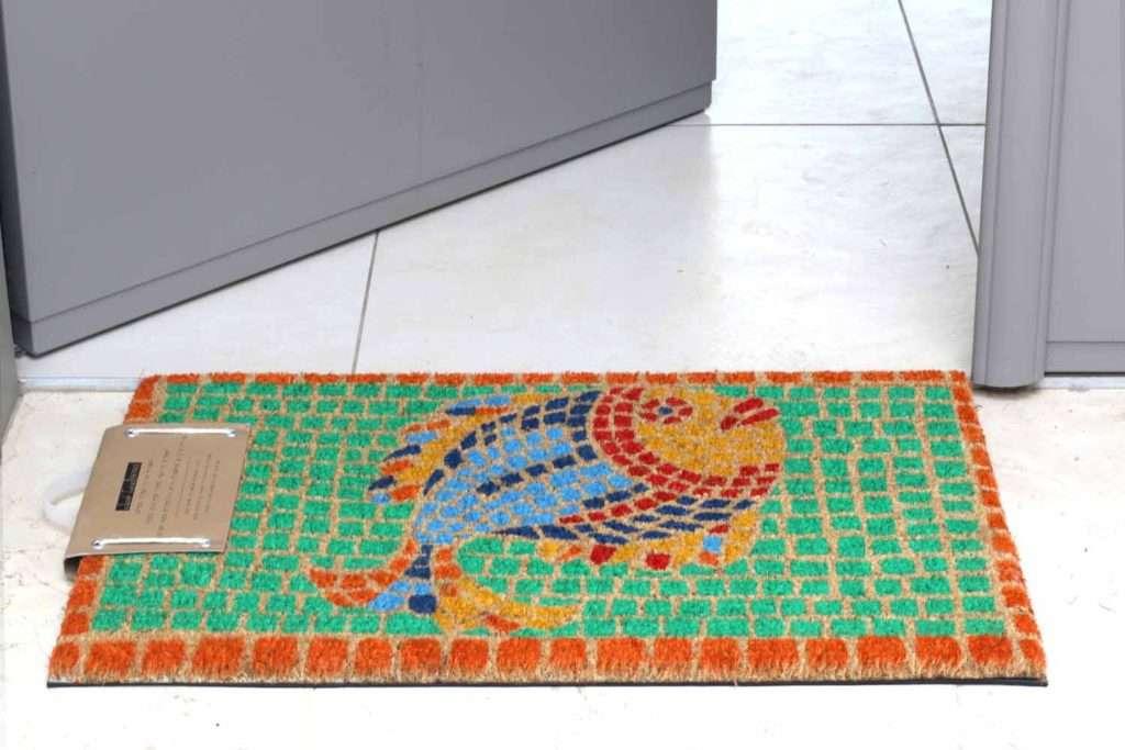 שטיח כניסה דג פסיפס ייחודי