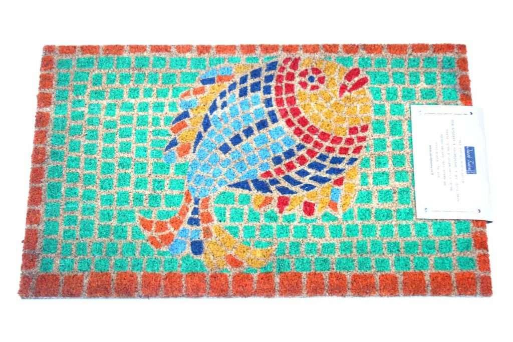 שטיח כניסה דג פסיפס מהמם
