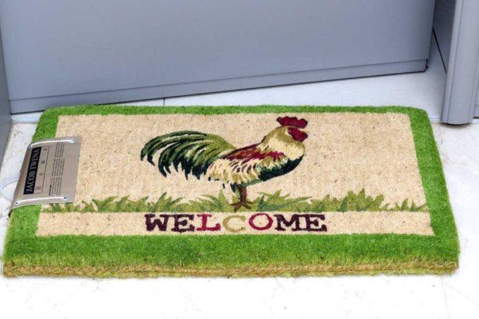 שטיח כניסה עבה תרנגול