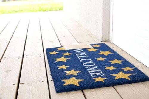 שטיח כניסה כוכבים