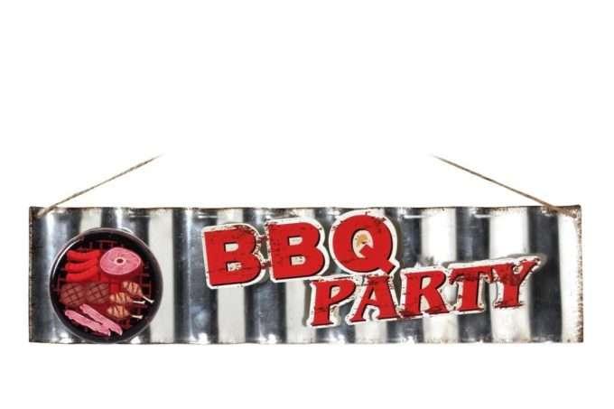 שלט מעוצב BBQ