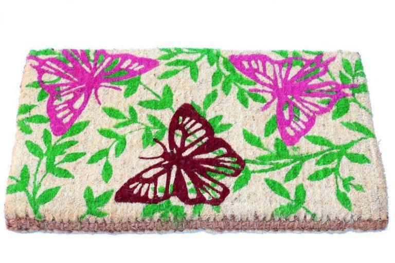 שטיח כניסה עבה פרפרים