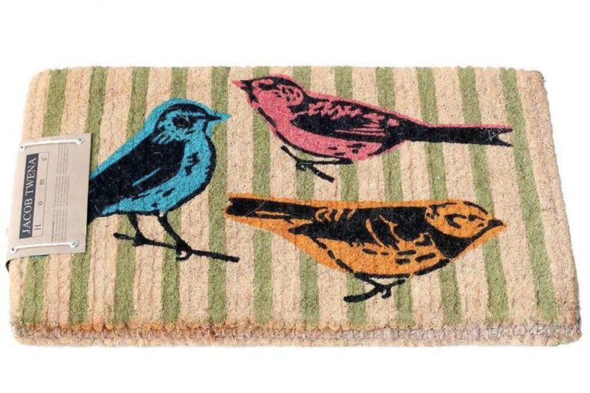 שטיח סף עבה ציפורים