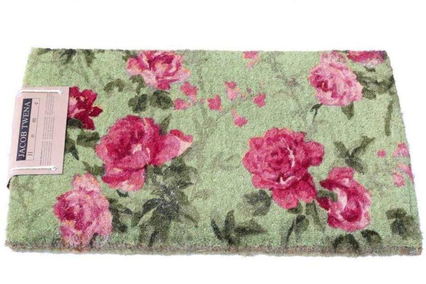 שטיח סף עבה ורדים ורוגים