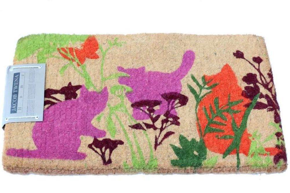 שטיח סף עבה חתולים