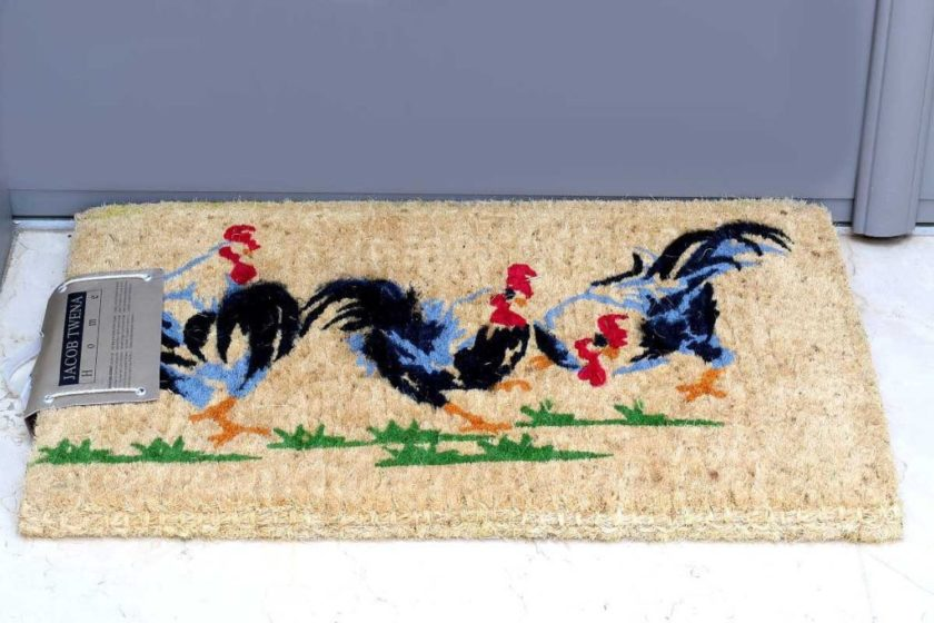 שטיח כניסה עבה תרנגולים