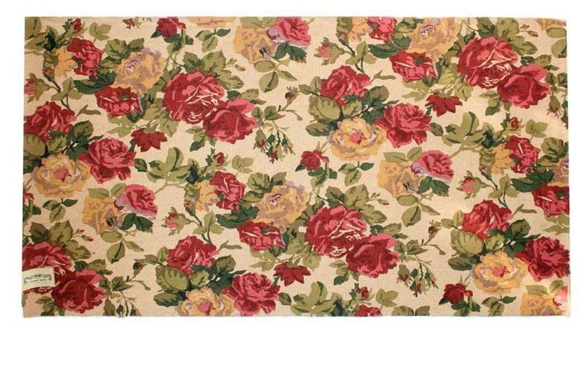 שטיח שושנים אדום