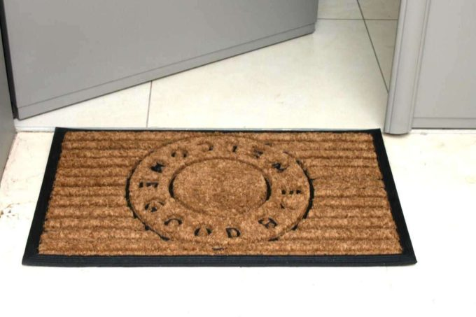 שטיח גומי מעוצב