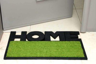 שטיח כניסה ירוק
