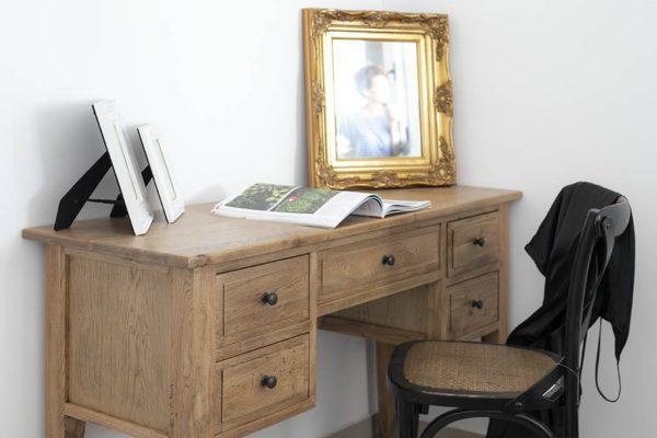שולחן כתיבה מעץ טבעי