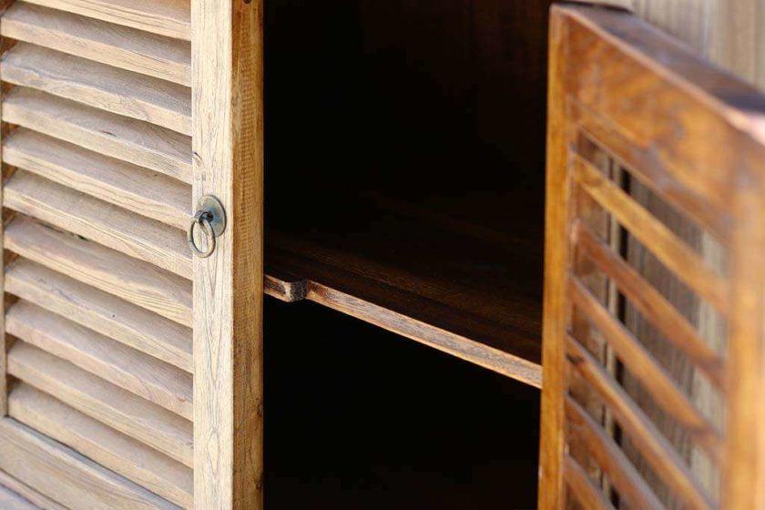 מזנון שלוש דלתות טבעי