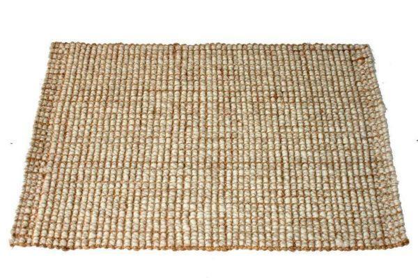 שטיח חבל וצמר טבעי