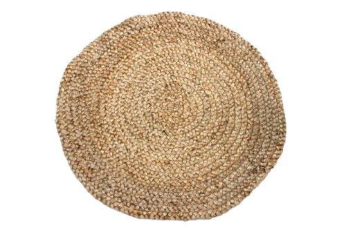 שטיח חבלים עגול