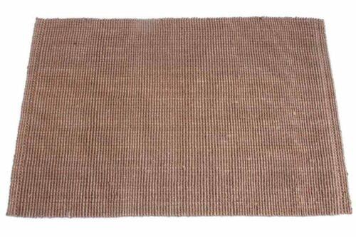 שטיח חבל בצבע חום כפרי
