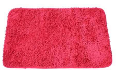 שטיח אמבט שאגי אדום