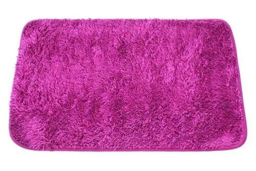שטיח אמבט שאגי סגול