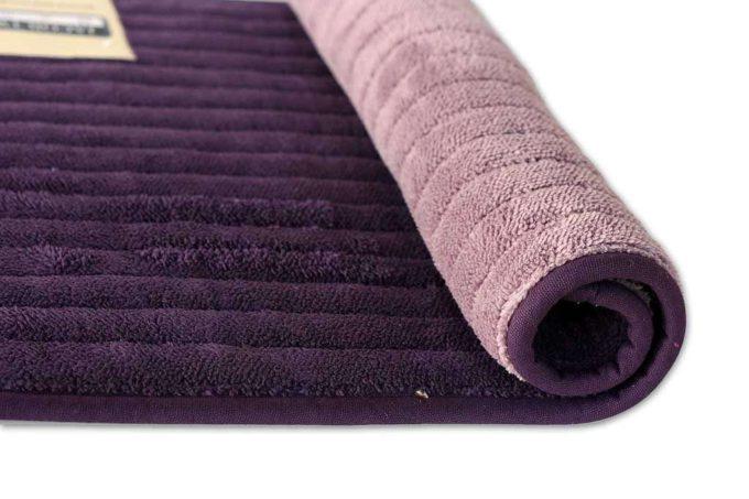שטיח אמבט דו צדדי סגול