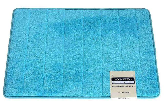 שטיח אמבט טורקיז איכותי