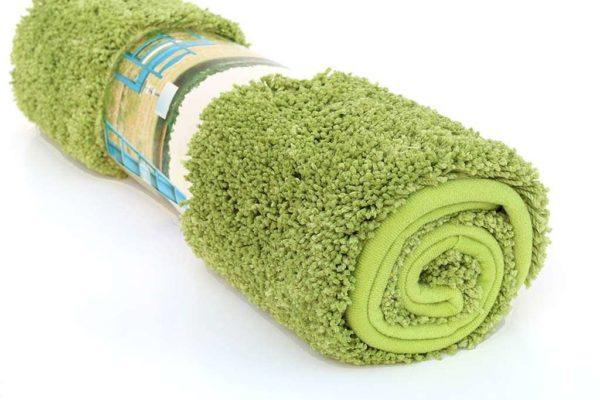 שטיח אמבטיה ירוק גדול