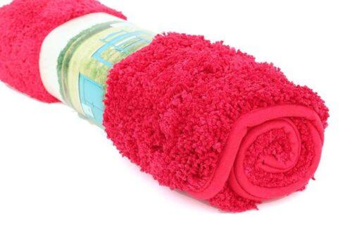שטיח אמבטיה אדום