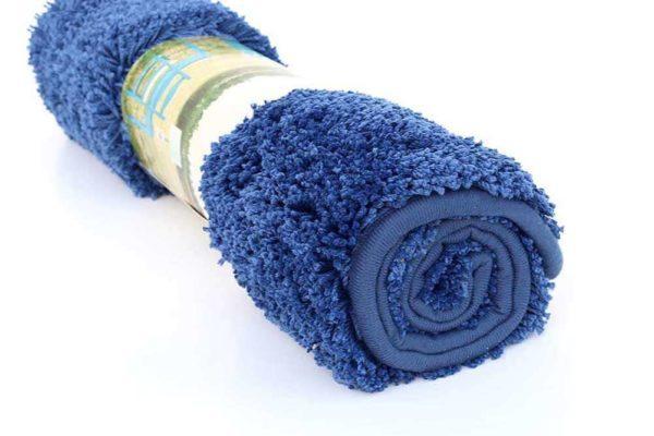 שטיח אמבטיה כחול איכותי