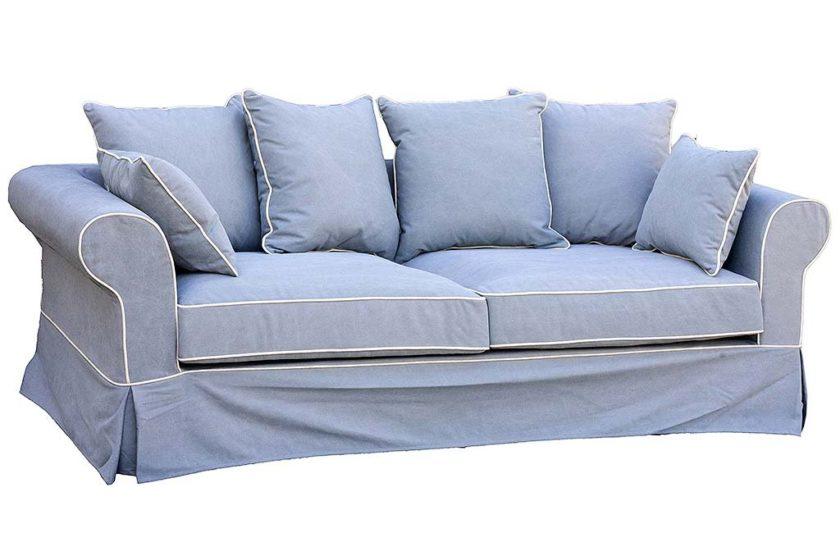 ספה תלת מושבית מבד