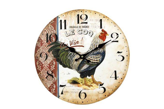 שעון בסגנון כפרי צרפתי