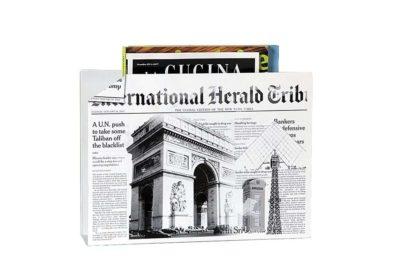 סל עיתונים מעוצב