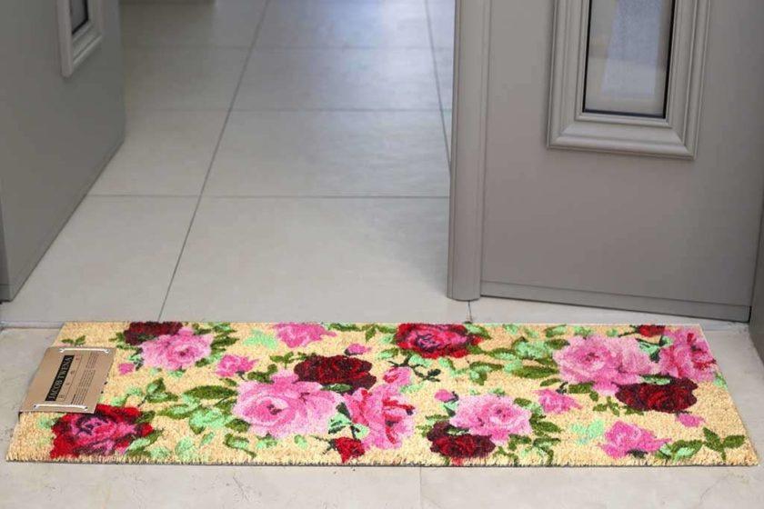 שטיח ארוך שושנים לסף