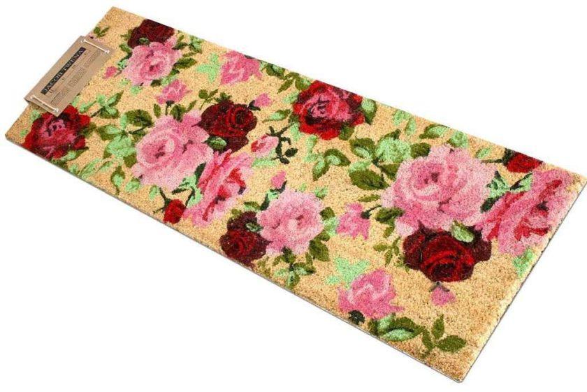שטיח ארוך שושנים לכניסה