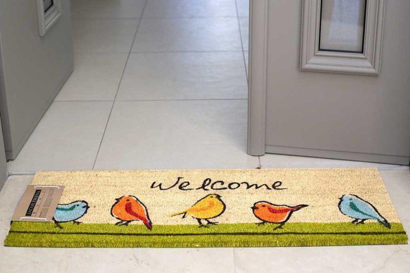 שטיח ארוך ציפורים לסף