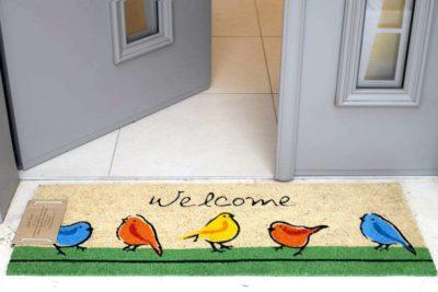 שטיח ארוך ציפורים מעוצב