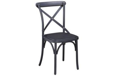 כסא גינה שחור כפרי
