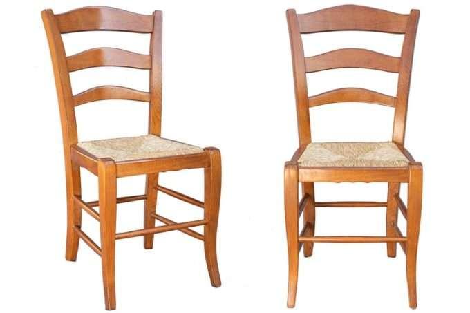 כיסא עץ קלאסי לפינת אוכל