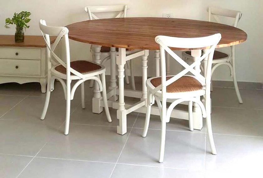 כסאות אוכל לבנים