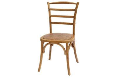 כסא כפרי מקורי מעץ