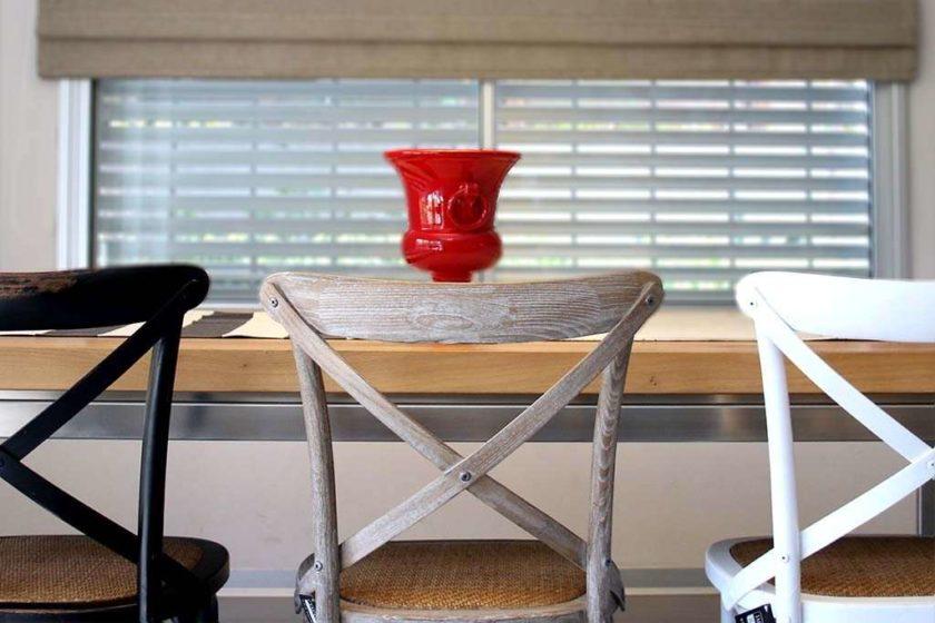 כסא איקס חום פינת אוכל