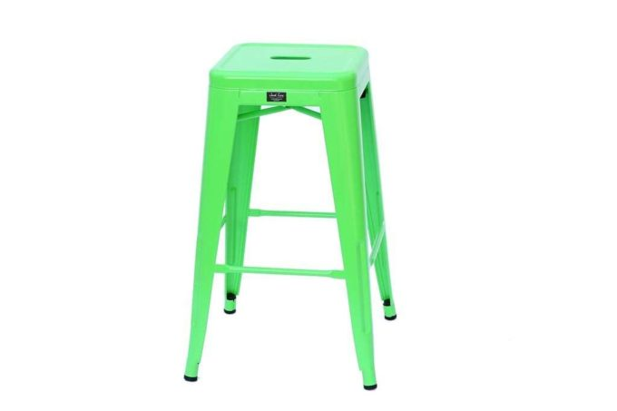 כסא בצבע ירוק לבר