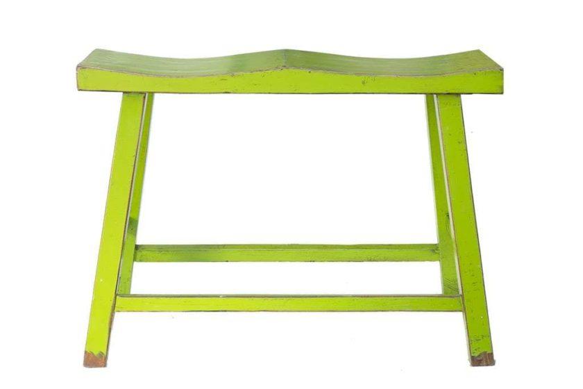 כסא בר לזוג בצבע ירוק