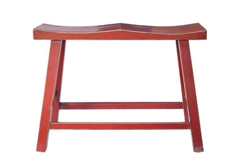 כסא בר זוגי אדום